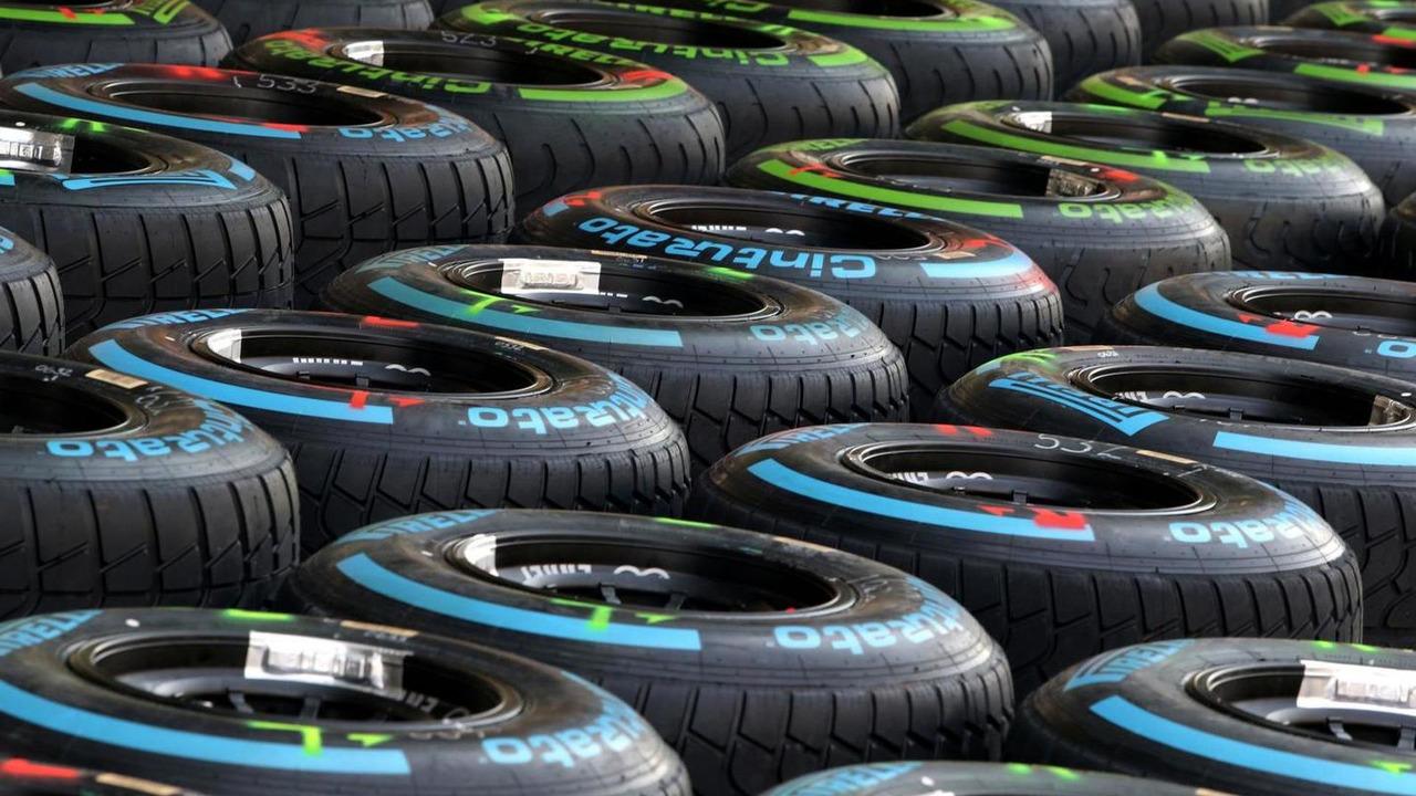 Pirelli tires 31.10.2013 Abu Dhabi Grand Prix