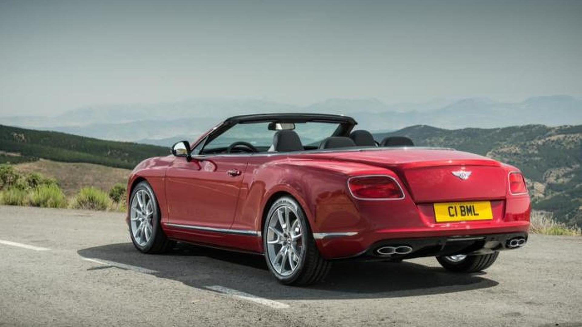 Bentley Continental Gt V8 S Revealed With 521 Bhp Videos Added