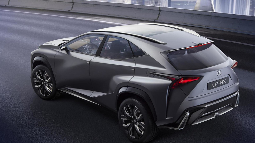 2015 Lexus NX crossover to debut in Beijing on April 20th