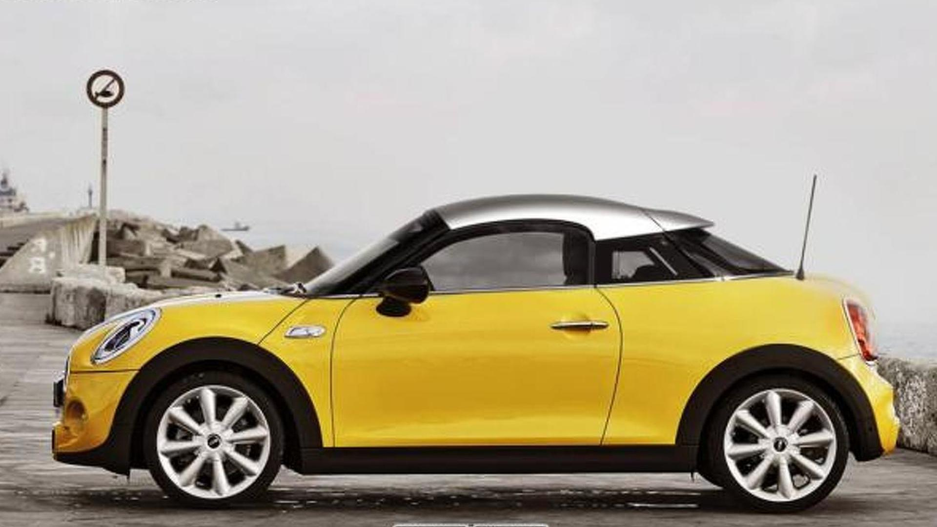 20 MINI rendered as Coupe, Roadster & Convertible