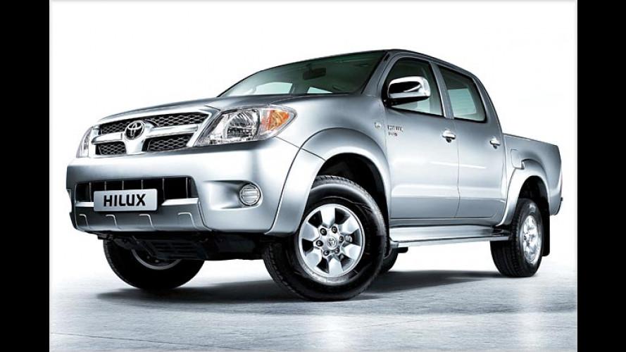 Toyota Hilux: Sechste Generation des Pick-ups kommt