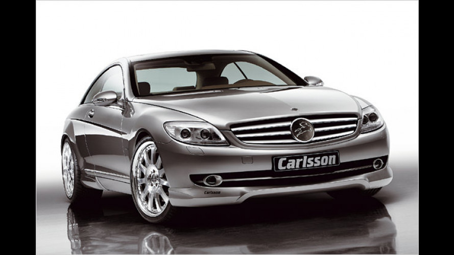 Carlsson CK60: Luxus-Coupé auf Basis des Mercedes CL