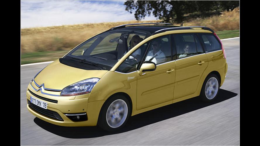 Citroën gibt Grundpreise des neuen C4 Picasso bekannt