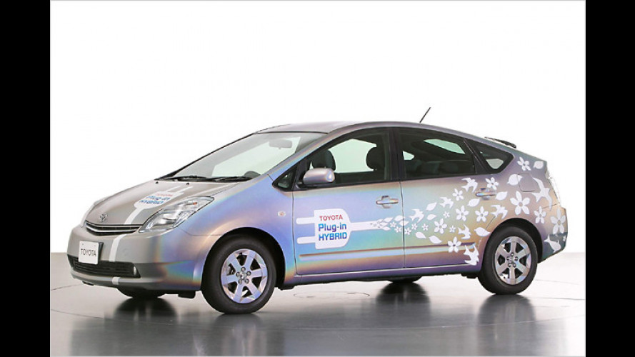 Noch grüner: Toyota bringt Hybridautos mit Plug-in-Technik