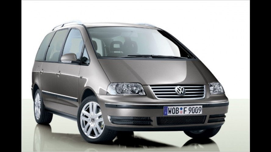 VW Sharan: Sondermodell Freestyle in Chrom-Alu-Optik