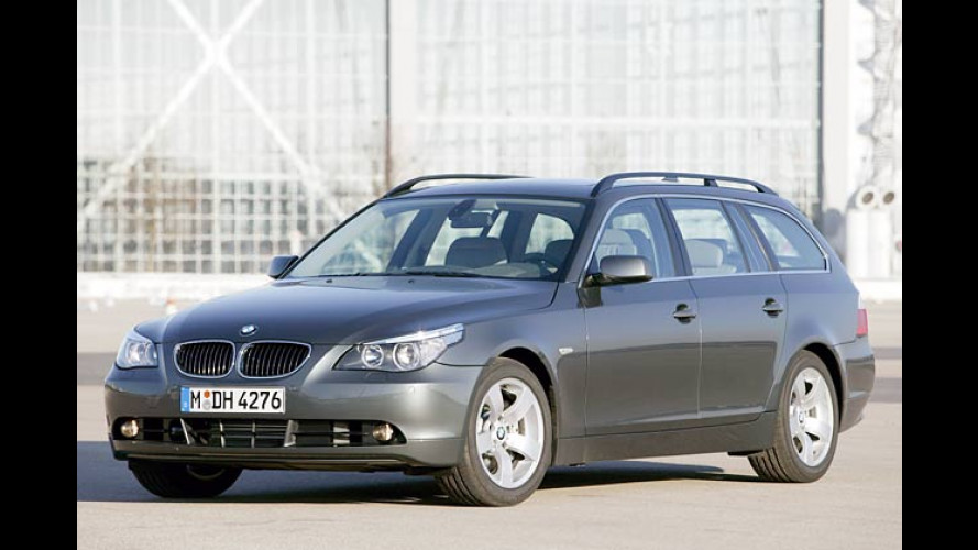BMW 545i Touring: Supersportler mit Transport-Talent