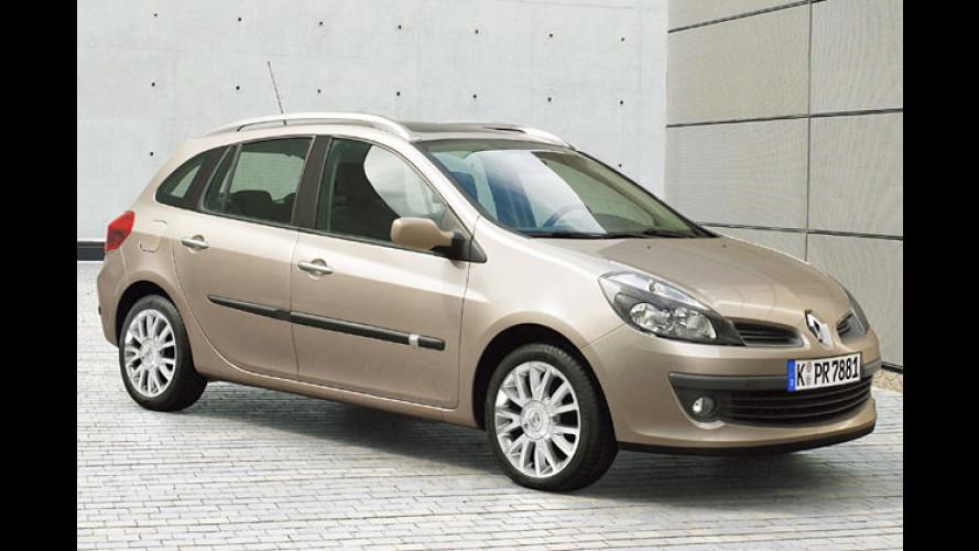 Renault Clio Grandtour: Kleiner Kombi steht auf der IAA