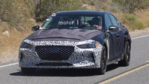 2018 Genesis G70 Spy Photos