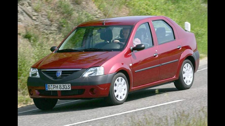 Dacia Logan 1.5 dCi: Neuer Spardiesel zum Sparpreis