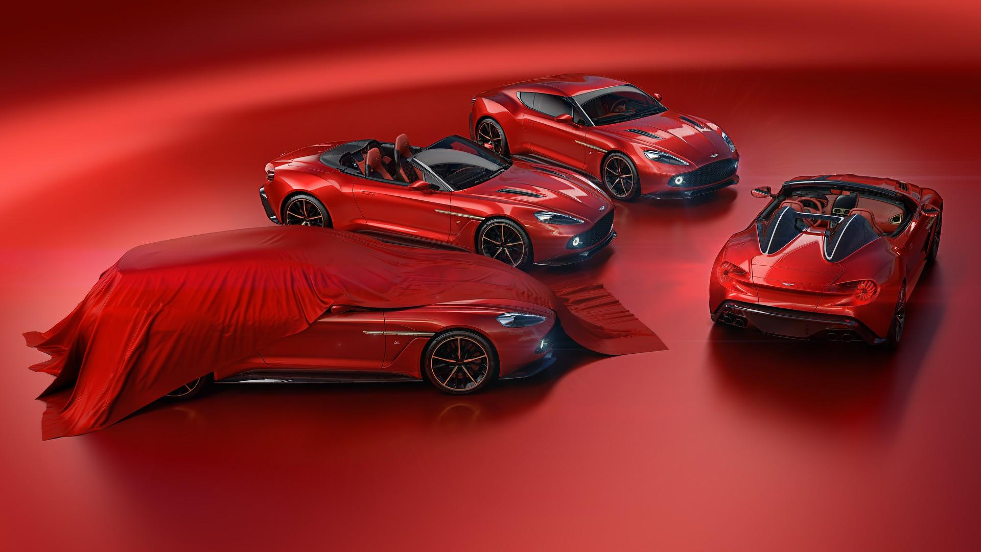 Whole Aston Martin Vanquish Zagato Collection Going To One Owner