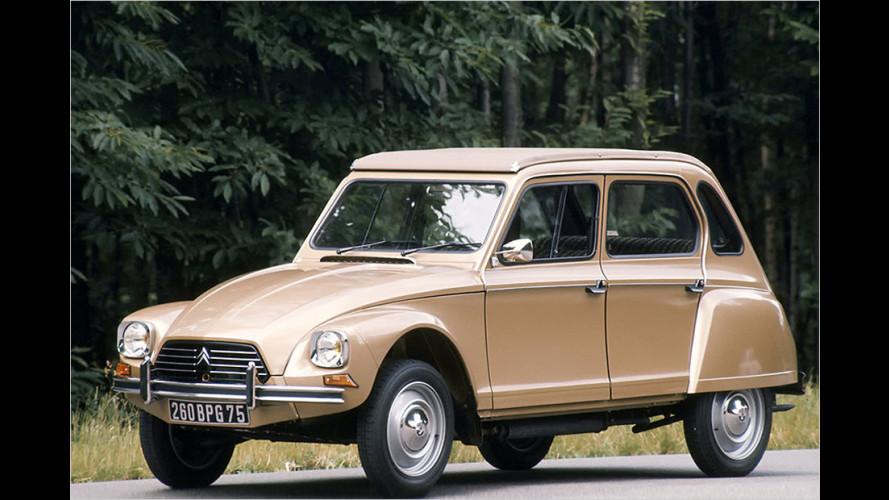 Vor 50 Jahren kam die Citroën Dyane auf den Markt