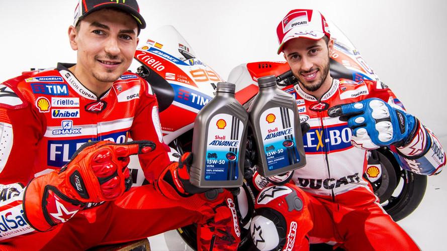 Ducati y Shell amplían su colaboración y lanzan Shell Advance Ducati