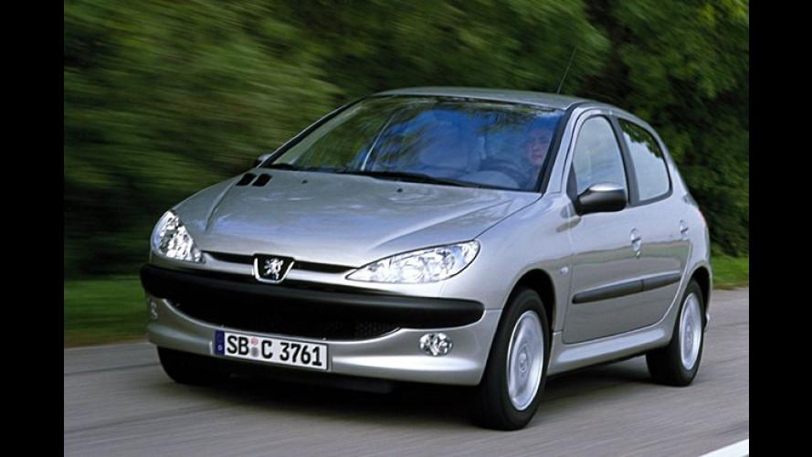 Peugeot 206: Neuer 1,4-Liter-Benziner und neue Automatik
