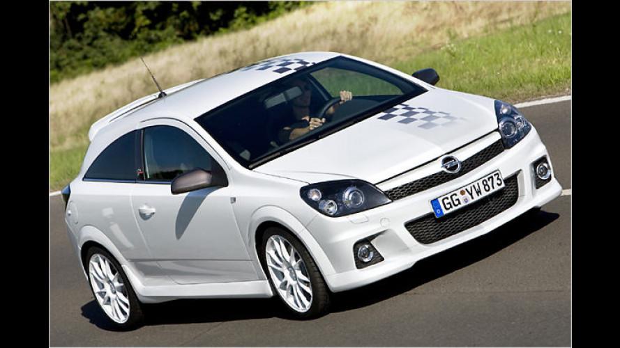 Opel präsentiert in Essen ein Astra OPC Sondermodell