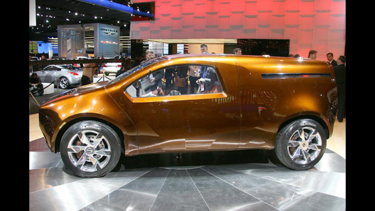 Nissan Bevel: Der Schräge