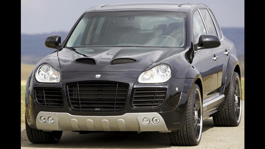 Lumma Design spritzt den Porsche Cayenne auf