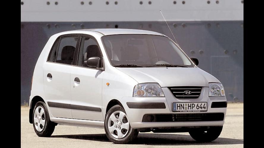 Hyundai drückt den Atos unter die 7.000-Euro-Schwelle
