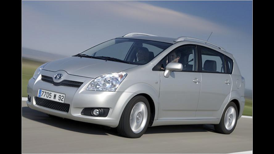 Der Corolla lebt weiter: Facelift für den Kompaktvan Verso