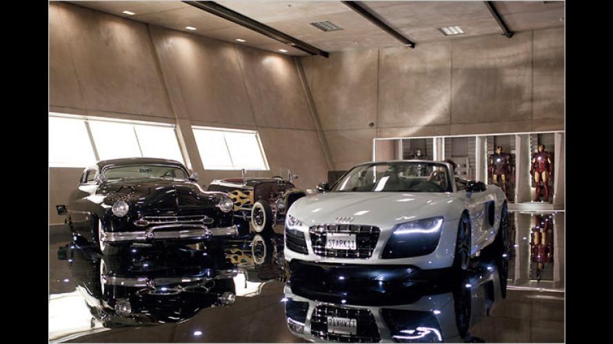 Ein Audi für den Filmhelden: Iron Man fährt R8 Spyder