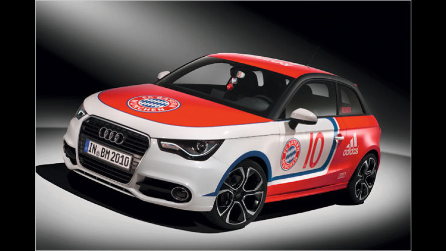 Ein Renner für Robben: Audi-Studie für Bayern-Star