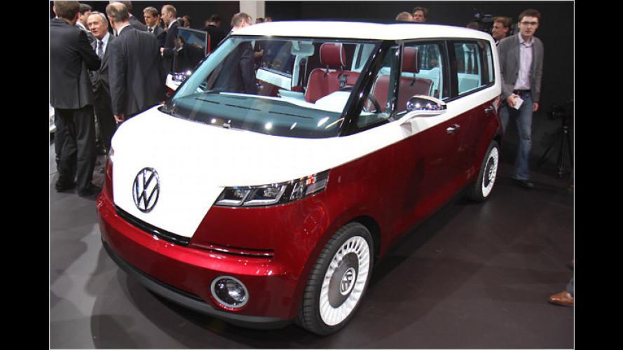 Bulli-Parade in Genf: VW setzt auf Nostalgie