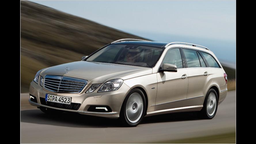 Sternzeichen T: Mercedes zeigt die E-Klasse als Kombi