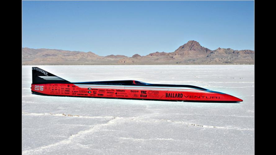 Elektrische 487 km/h: Venturi Buckeye Bullet