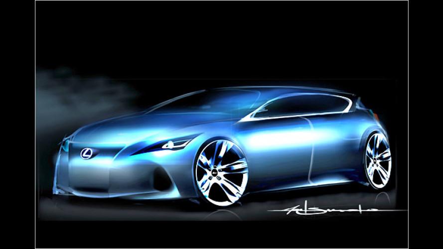 Lexus zeigt Kompaktwagen als Designstudie auf der IAA