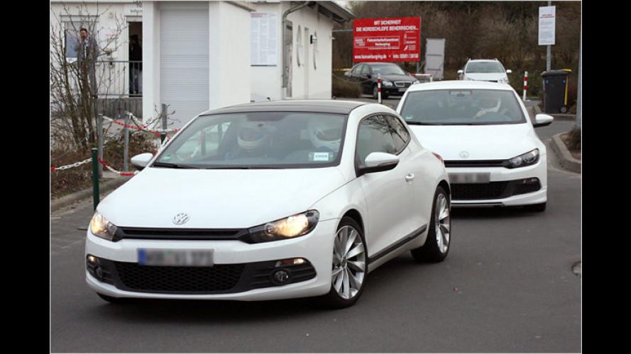 R-wischt: VW bringt Power-Versionen von Scirocco und Golf