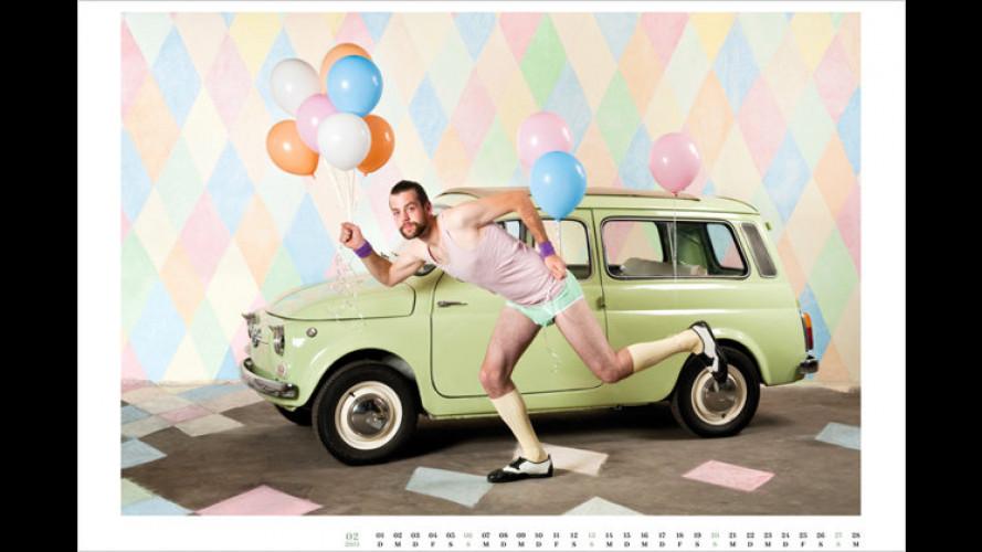 Liebestöter und Speckpolster: Autowäschekalender 2011