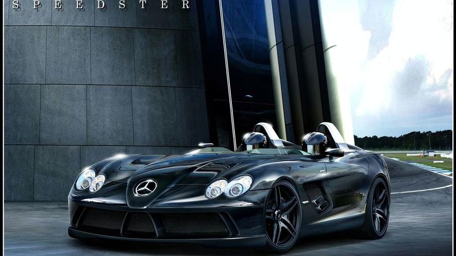 Rendered: Mercedes SLR Speedster