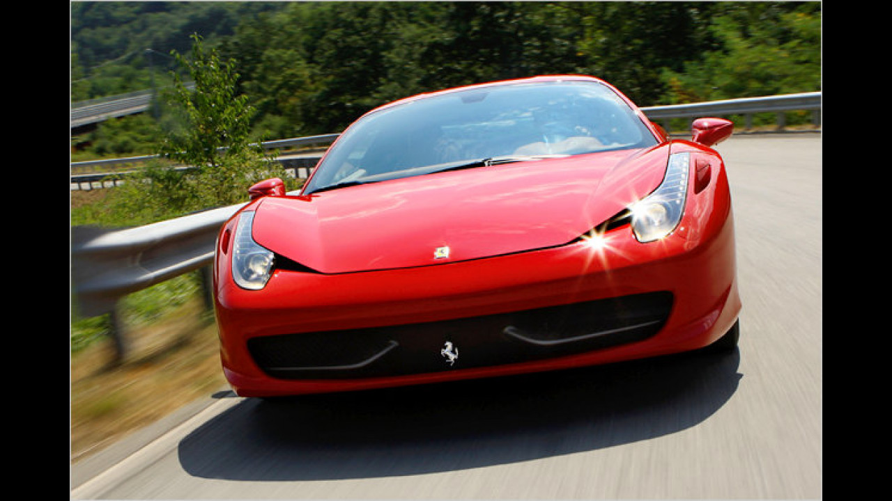 Bester Hochleistungsmotor: Ferrari 4,5-Liter-V8