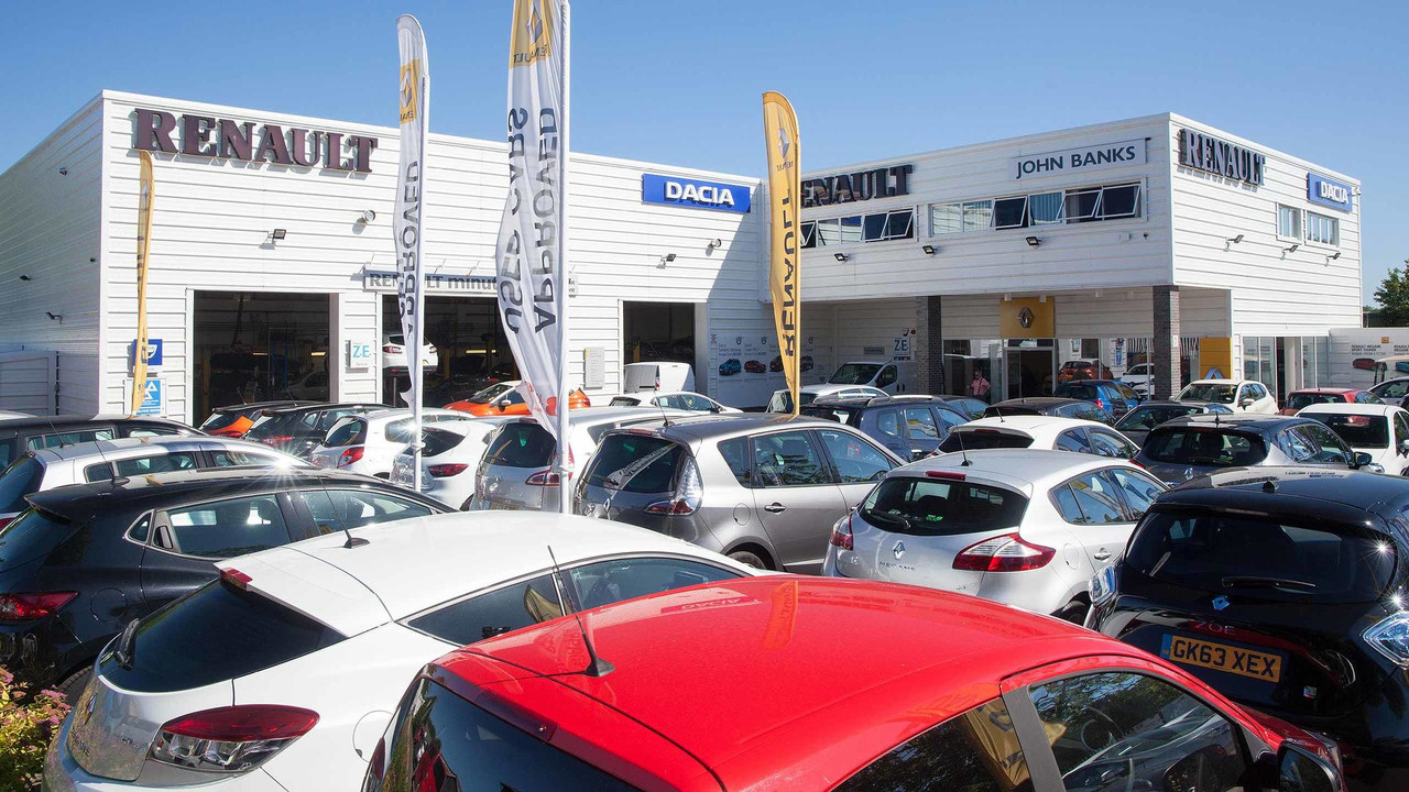 UK car dealer