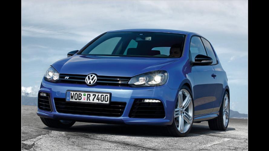 VW-Topmodelle: Golf R und Scirocco R ab sofort bestellbar