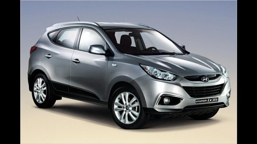 Hyundai ix35: Korea-Konkurrenz für den Tiguan