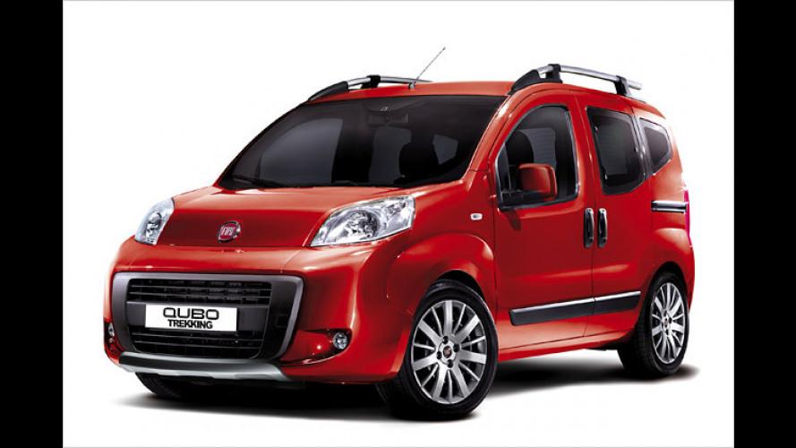 Neuer Fiat Qubo Trekking: Fit für unbefestigte Straßen