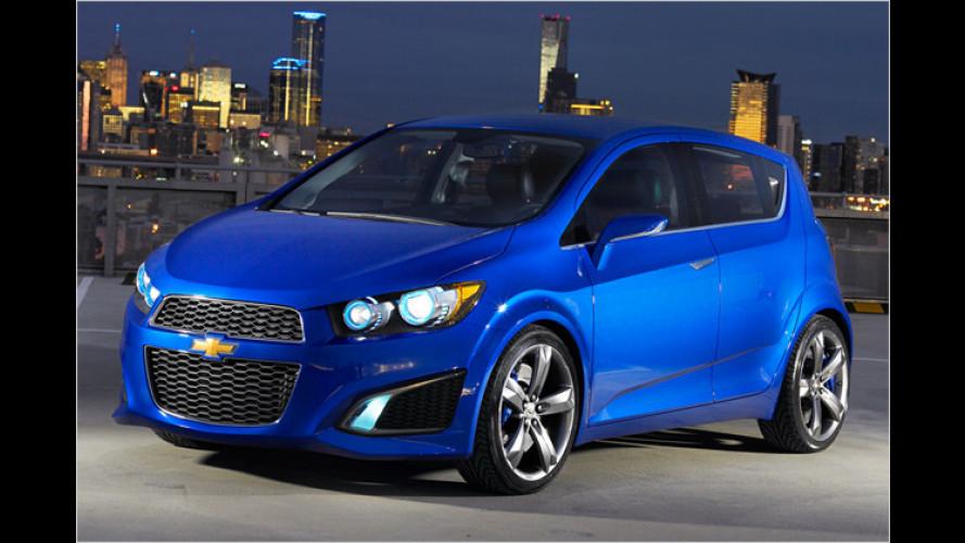 Chevrolet gibt Ausblick auf die nächste Aveo-Generation