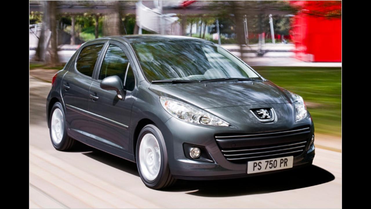 Platz 10: Peugeot 207 (2,1 Prozent)