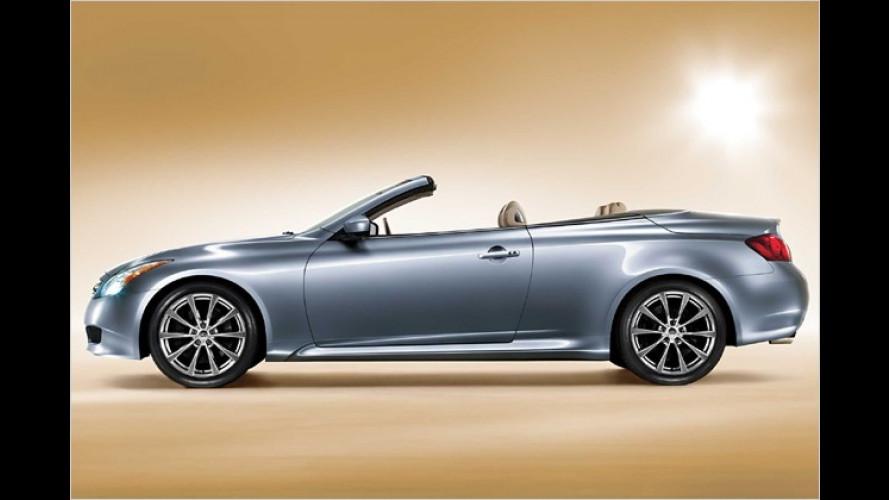 Infiniti eröffnet die Open-Air-Saison: G37 Cabrio vorgestellt