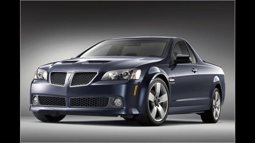 Pontiac G8 ST: Die Qual der Namenswahl