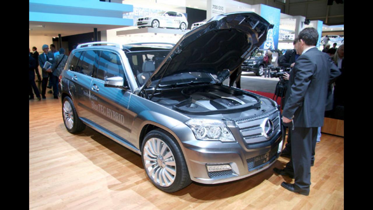 Mercedes GLK Bluetec Hybrid: Das schwäbische Öko-SUV soll sich mit 5,9 Liter Diesel pro 100 Kilometer begnügen