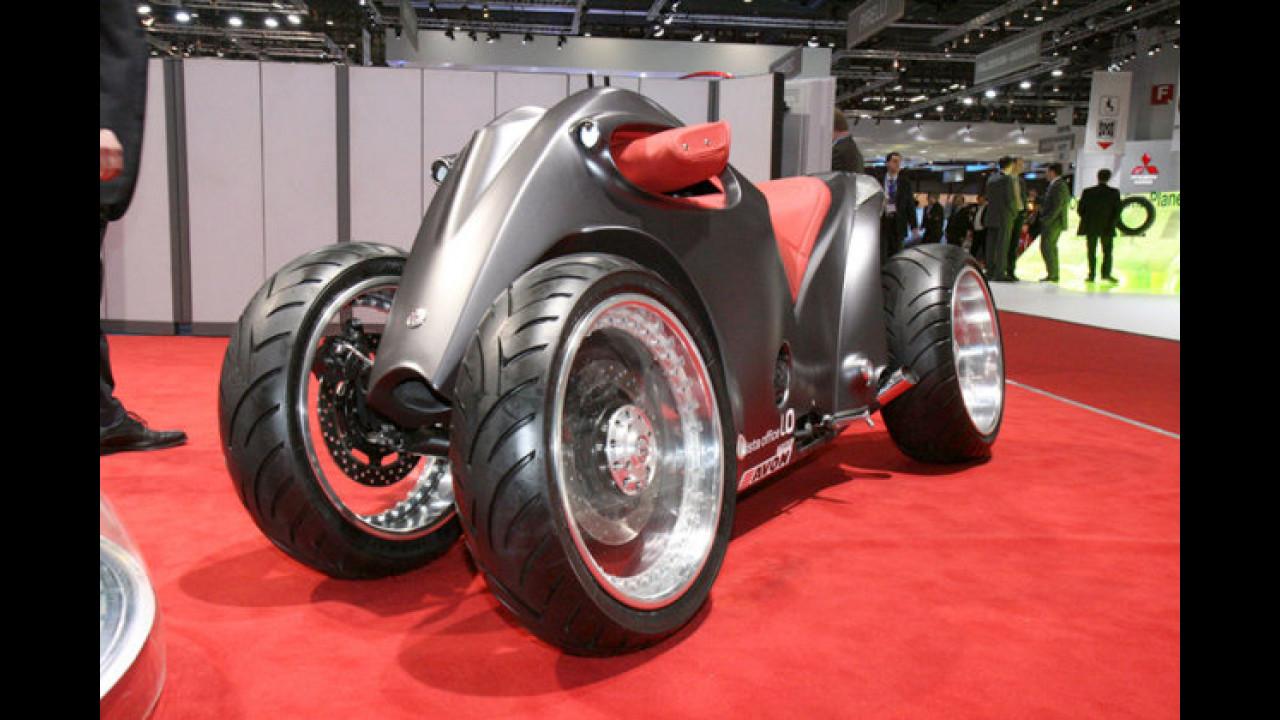 Sbarro Quad: Das futuristische Vierrad ...