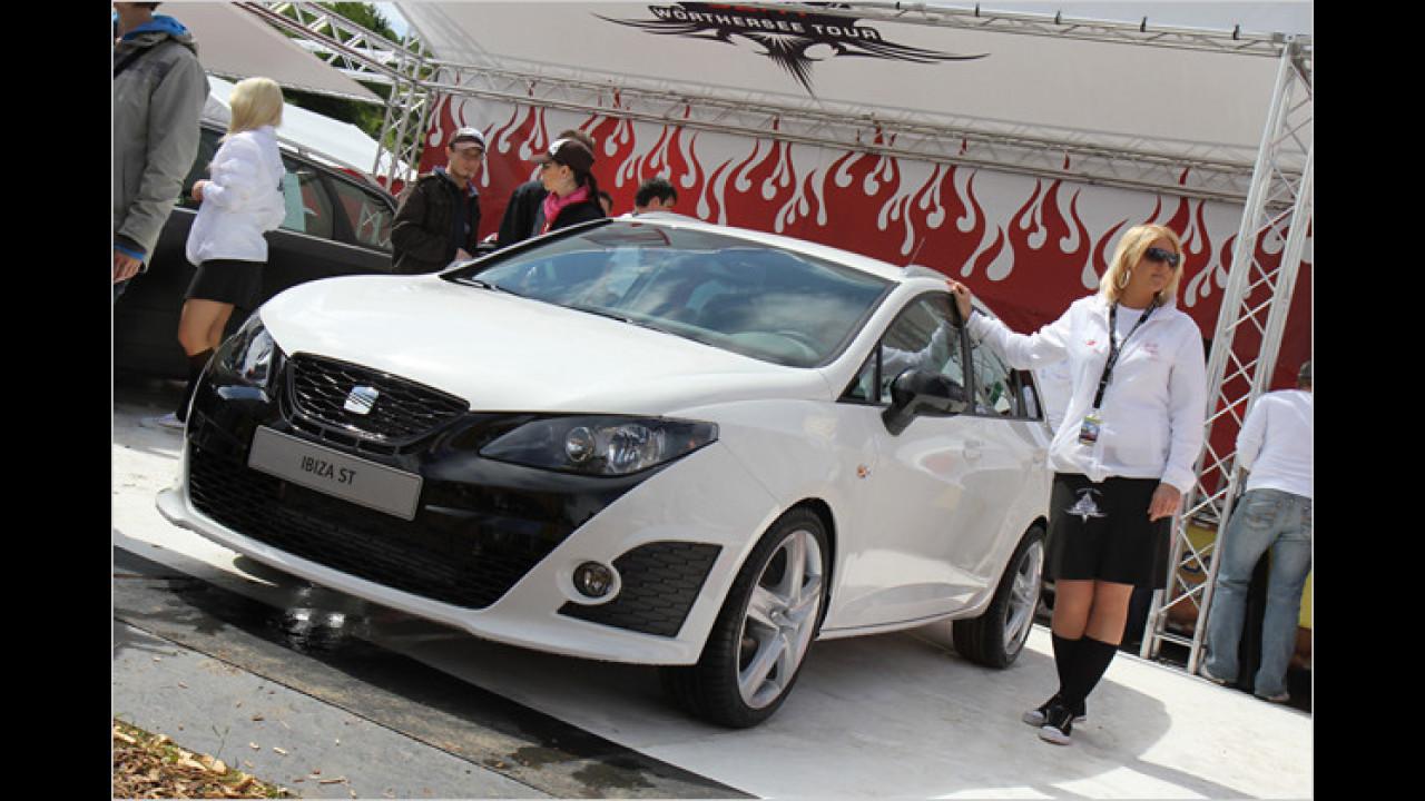 Den neuen Ibiza ST gibt es nun auch als Bocanegra-Variante mit 180 PS