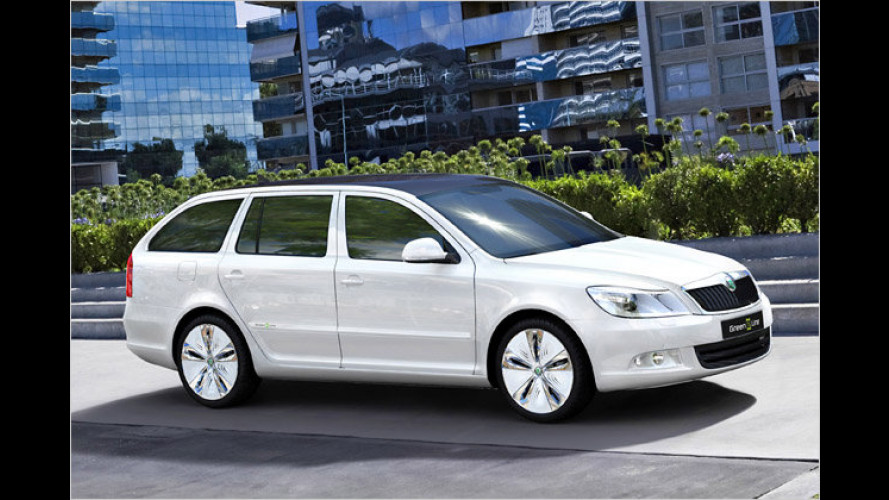 Skoda legt Spannung an: Octavia Green E Line in Paris