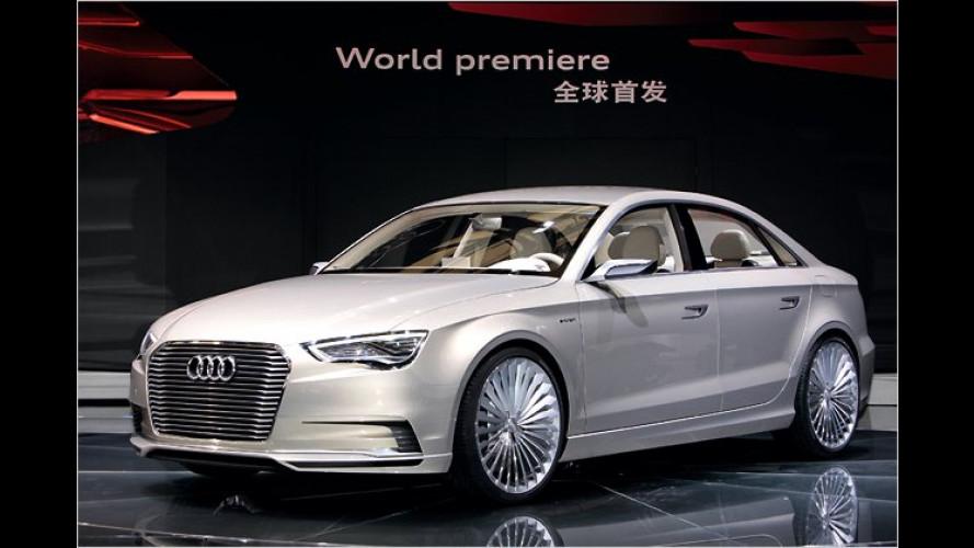 Audi präsentiert den Plug-in-Hybriden A3 e-tron concept