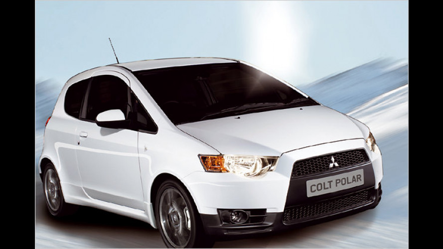Mitsubishi Colt Polar: Für kühle Rechner