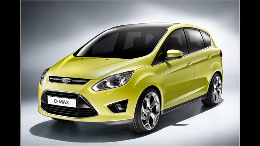 Das hohe C: Ford enthüllt den neuen C-Max