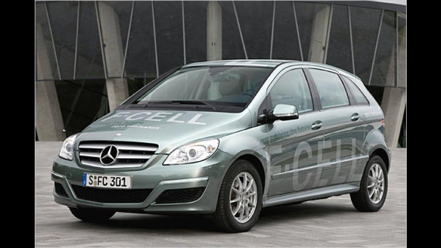 Mercedes B-Klasse F-Cell: Brennstoffzellen mit mehr Power
