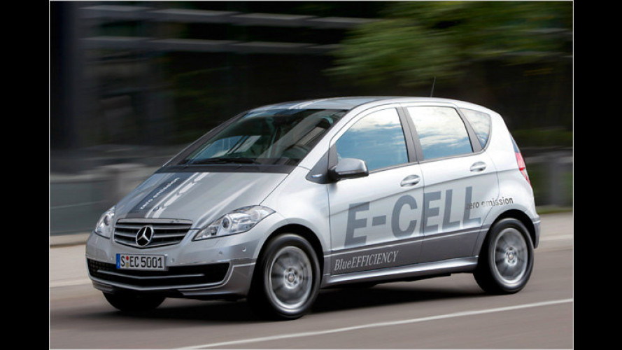 Mercedes A-Klasse E-Cell (2010): Baby-Benz fährt rein elektrisch