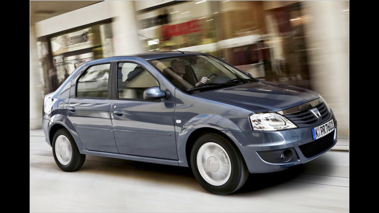 Platz 2 Kleinwagen: Dacia Logan
